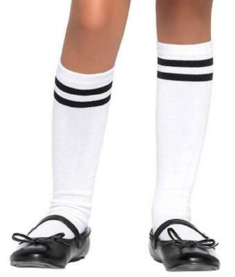 Referee Socks Sports Football Fancy Dress Up Halloween Child Costume Accessory