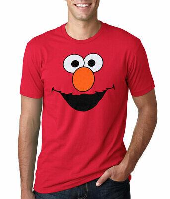 Sesame Street Shirts (Sesame Street Elmo Face Adult)