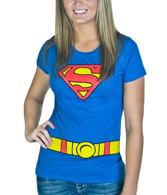 Supergirl Costume Junior Women's - Supergirl Shirts