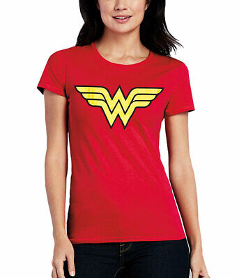 Wonder Woman Logo Junior Women's - Wonder Woman Tee Shirt