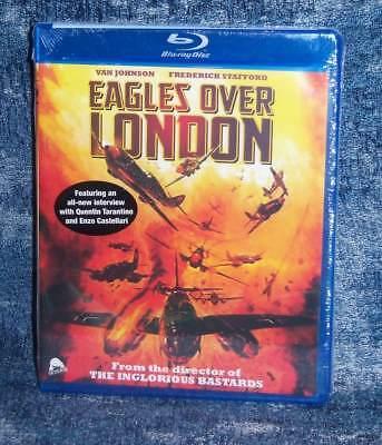 NEW RARE OOP SEVERIN VAN JOHNSON EAGLES OVER LONDON WWII MOVIE BLU RAY 1969