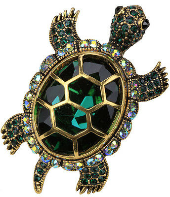 Turtle pin brooch pendant Halloween party costume jewerly QBA15 gifts for women