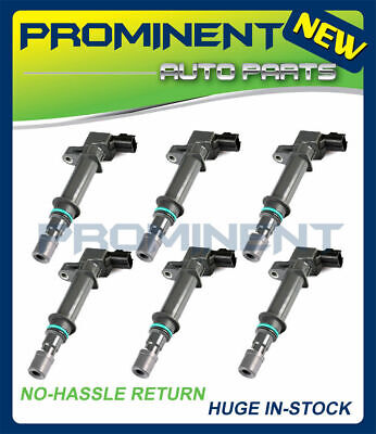Pack 6 Ignition Coils on Plug For Dodge Jeep Mitsubishi V6 37L V8 47L UF270