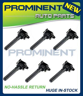Pack 6 Ignition Coils For 1998-2005 Chrysler 300 300M Dodge Plymouth V6 UF269 Chrysler Prowler Ignition Coil
