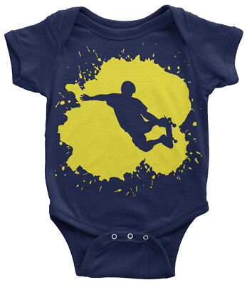 Skateboarder Splatter Infant Bodysuit Cool Birthday Party Gift Idea - Cool Birthday Ideas