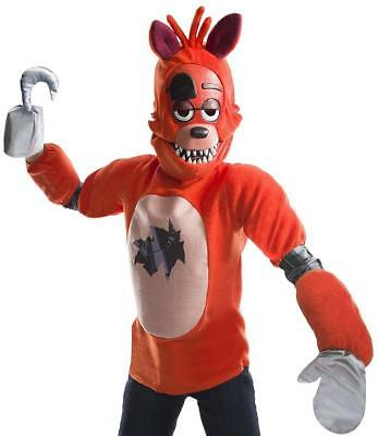 Foxy Five Nights at Freddy's Game Fancy Dress Halloween Deluxe Child - Foxy Halloween Costume