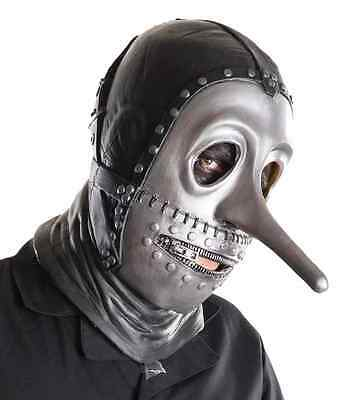Chris Fehn Mask Slipknot Gray Chapter Tour Halloween Adult Costume Accessory