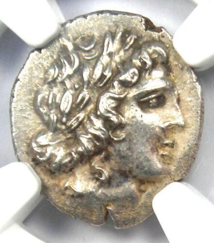 Lycia Masicytes AR Hemidrachm Coin (Apollo, 48-20 BC) - Certified NGC Choice AU