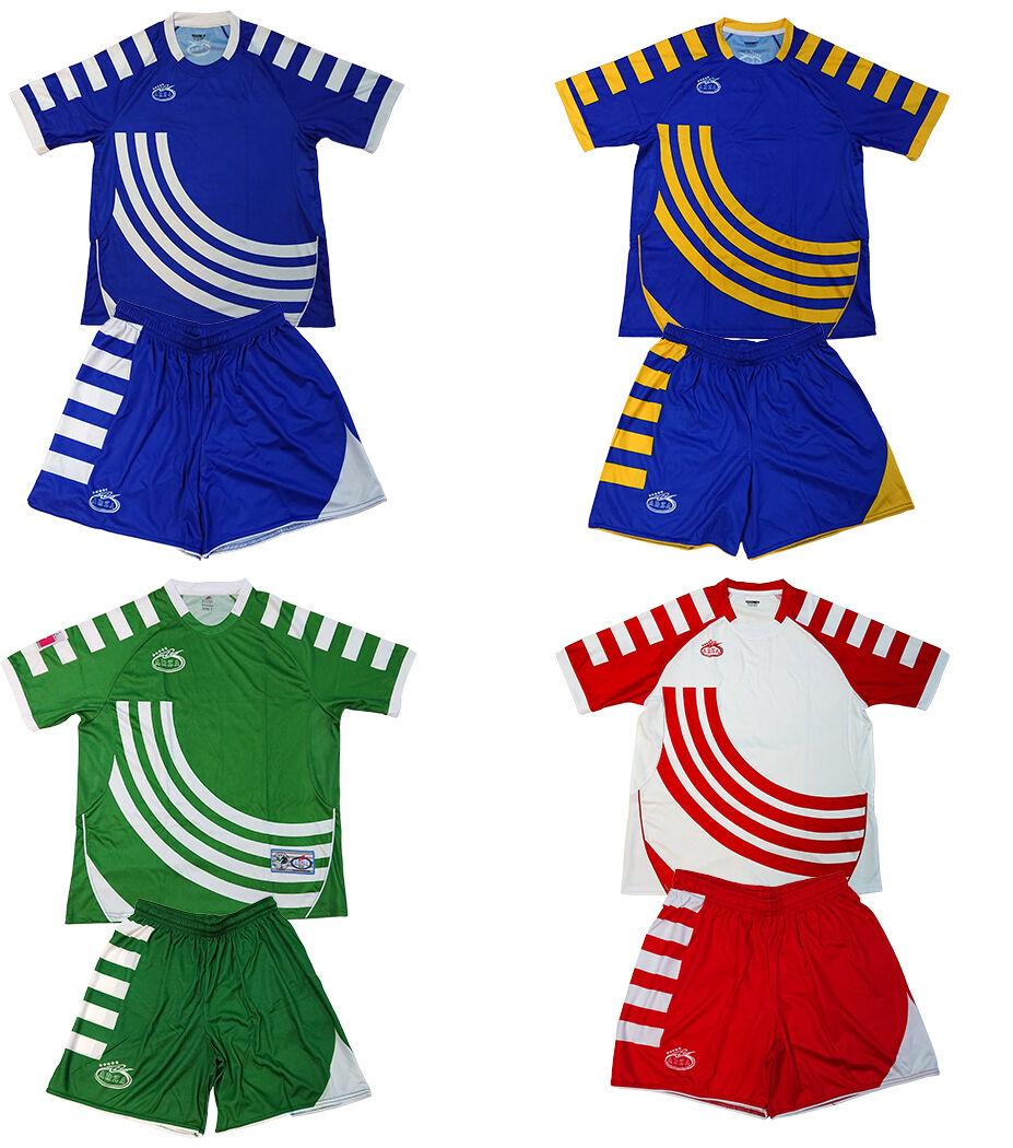 Men's Soccer 20 Uniforms Lot Jersey Short Socks Number