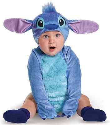 Stitch Infant Disney Lilo Fancy Dress Up Halloween Baby Toddler Child Costume