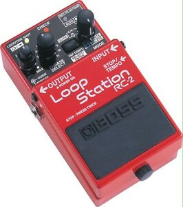 Boss loop station rc-2