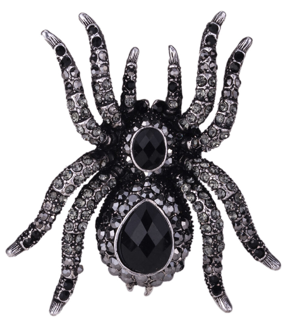 Spider stretch ring halloween jewelry gifts Decor for women
