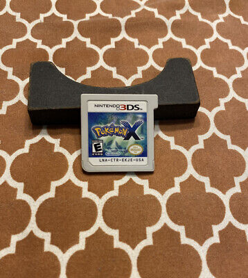 Pokemon X (Nintendo 3DS, 2013) - Cartridge Only - Authentic LOTS OF PICS!!!!