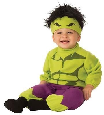 Hulk Marvel Classic Superhero Fancy Dress Up Halloween Baby Child Costume