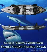 FISHING KAYAK DOUBLE 2 SEATER Deer Park Brimbank Area Preview