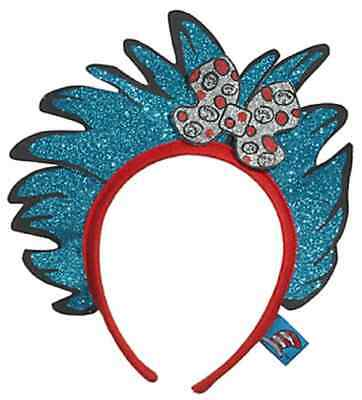 Thing 1 / 2 Glitter Headband Dr. Seuss Cat Hat Halloween Child Costume Accessory - Thing 1 Costume Baby