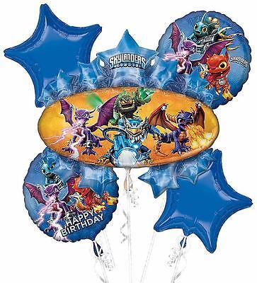 Skylander Birthday Party (Skylanders Adventure Video Game Birthday Party Decoration Mylar Balloon)