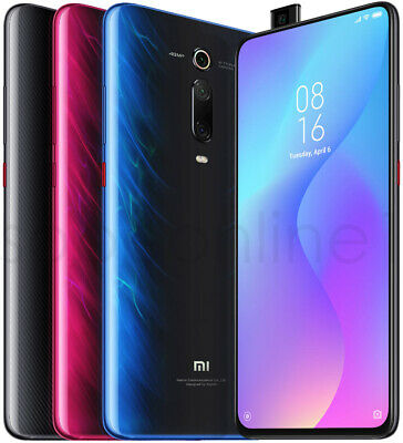 Xiaomi Mi 9T 128GB 6GB RAM(FACTORY UNLOCKED) 6.39 48MP Carbon Black Glacier blue