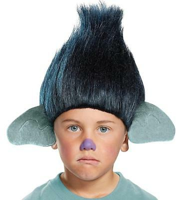 Branch Wig Headpiece Trolls Movie Fancy Dress Halloween Child Costume Accessory