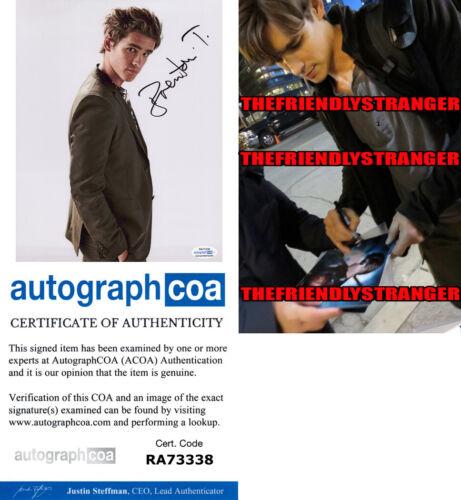 BRENTON THWAITES signed Autographed 8X10 PHOTO d PROOF -Hot SEXY Titans ACOA COA