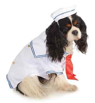 Sailor Boy Navy Military Uniform Cute Fancy Dress Halloween Pet Dog Cat Costume](Cute Boy Dog Halloween Costumes)