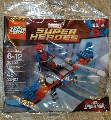 LEGO Marvel Super Heroes 30302 polybag ** SPIDER-MAN GLIDER ** NIP free shipping