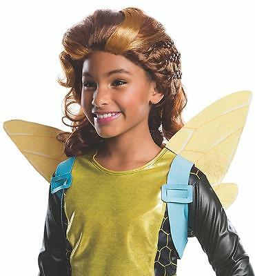 Halloween Wigs Dc (Bumblebee Wig DC Superhero Girls Fancy Dress Halloween Child Costume)