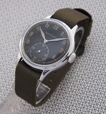 JAEGER LeCOULTRE WWII Military Watch cal.469/A German Wehrmacht Officer vintage