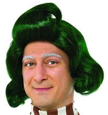 Oompa Loompa Wig Willy Wonka Chocolate Factory Halloween Adult Costume Accessory - Willy Wonka Oompa Loompa Costumes