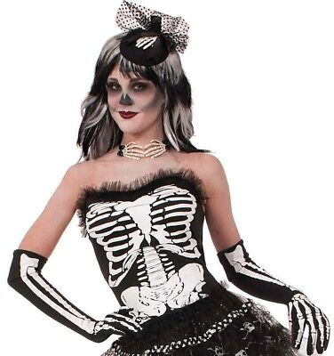 Bone Collection Corset Black Skeleton Bones New by Forum - Skeleton Corset
