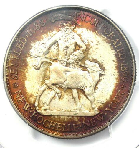 1938 New Rochelle New York Half Dollar 50C - Certified PCGS MS67 - $875 Value!