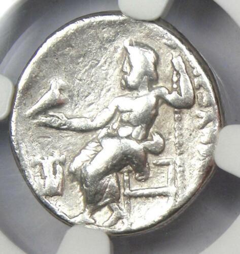 Macedon Alexander the Great III AR Drachm Coin 336 BC - Certified NGC Fine