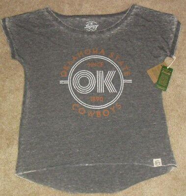 Oklahoma State Cowboys Womens Girls T Shirt  New With Tags   Sz Medium Ncaa