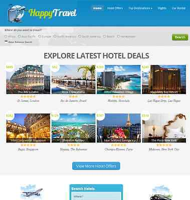 Make Money Online With Flight Hotel Car Rental Comparison Website