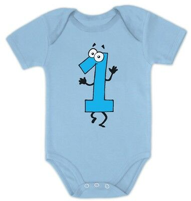 Baby Boy I'm 1 One Year Old Birthday Gift Cute Bodysuit Baby