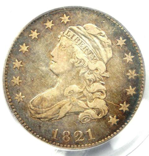 1821 Capped Bust Quarter 25C - PCGS VF35 - Rare Early Date Coin - $1,000 Value!