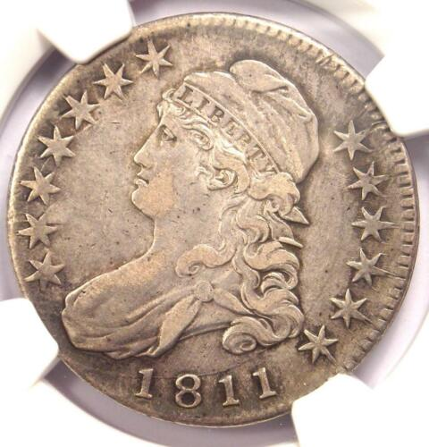 1811 Bust Half Dollar 50C - Certified NGC XF Details (EF) - Rare Coin!