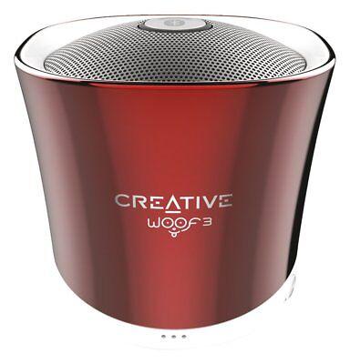 Creative Woof 3 Bluetooth Wireless Speaker Lautsprecher Boxen 7-1.4-254 micro SD (Creative Bluetooth)