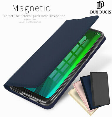 DD Motorola Moto G7 Power Play Plus PU Leather Flip Case Wallet Magnetic Cover