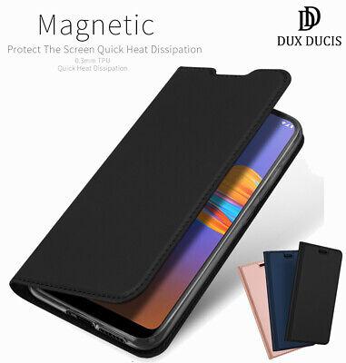 DD For Motorola Moto E6 Play & E6 Plus Leather Case Wallet Magnetic Flip Cover