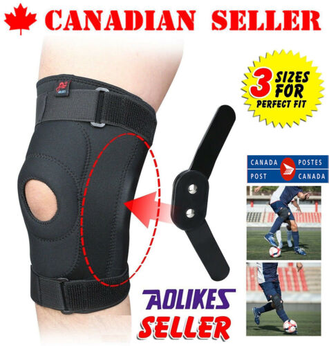 Adjustable Double Metal Hinged Knee Brace Support Protection Sport for Arthritis