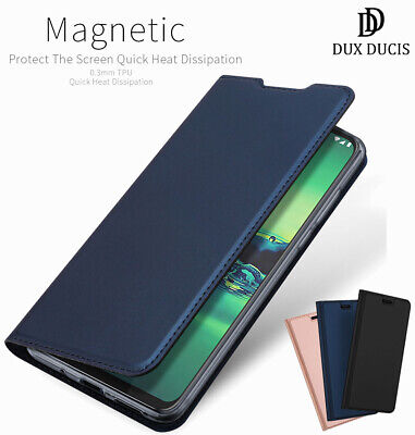 DD For Motorola Moto G8 Power Plus Case PU Leather Wallet Smart Magnetic Cover