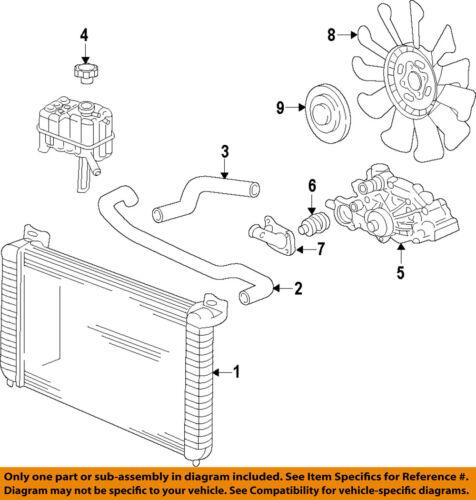 GM OEM-Engine Water Pump 19208815 | eBay