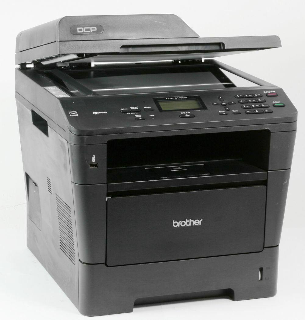 Brother dcp-8110dn imprimante laser scanner copieur fax utilisé