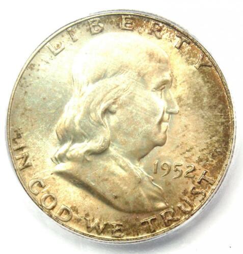 1952 Franklin Half Dollar 50C - ICG MS66+ FBL FL Plus Grade - $400 Value!