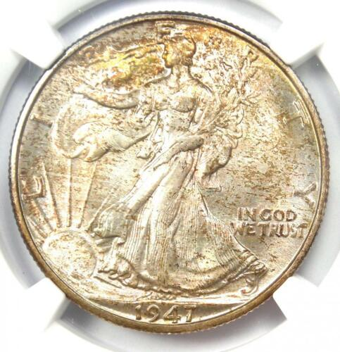 1947-D Walking Liberty Half Dollar 50C Coin - Certified NGC MS67 - $2,750 Value!
