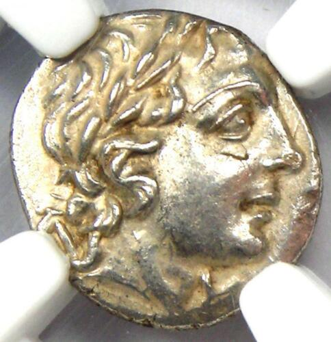 Lycia Masicytes AR Hemidrachm Coin (Apollo, 48-20 BC) - Certified NGC MS (UNC)