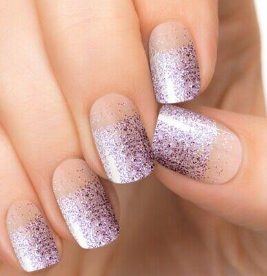 "Incoco / Color Street ""Plum Blossom"" - Purple Glitter OMBRÉ - Spring Easter"