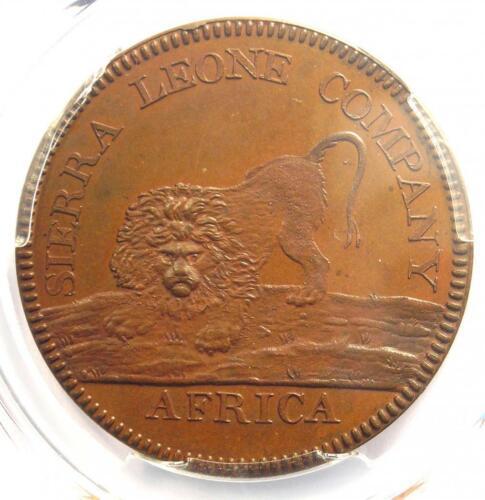 1791 Sierra Leone Proof Dollar $1 (100) - PCGS Proof Uncirculated Detail (PR PF)