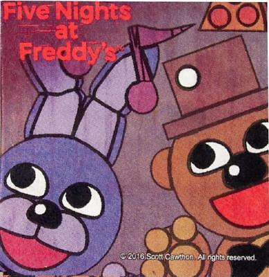 Five Nights at Freddy's Game Halloween Birthday Party Paper Luncheon Napkins - Halloween At Freddy's Game